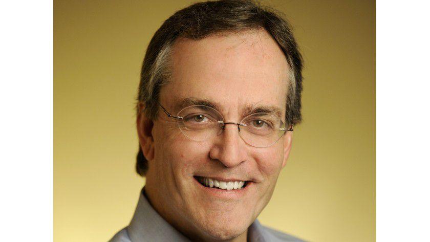 """Lexmark-Chef Paul Rooke baut seine Firma kontinuierlich zum """"Anbieter End-zu-End-Lösungen für Unternehmen"""" um."""