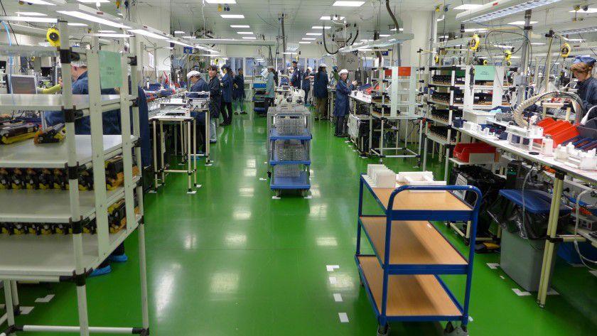 Rund 1,2 Millionen Brother-Tonerkassetten werden in Krupina wieder aufgearbeitet.