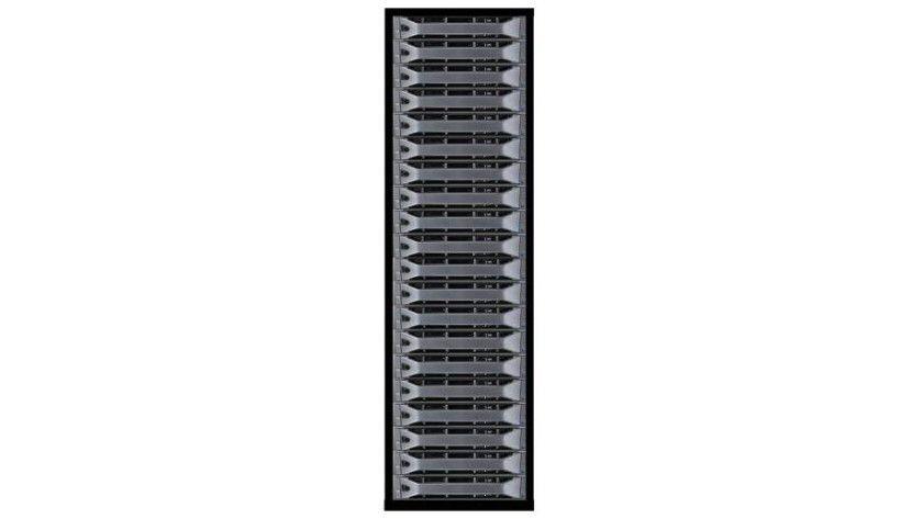 Rechenbolide: Vier- bis sechsmal so viel Rechenpower verspricht diese auf 9500 ARM-Prozessoren beruhende Serverarchitektur von Calxeda.