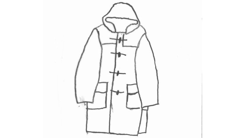 Der Dufflecoat oder Düffelmantel: Er ist das einzige klassische Mantelmodell, das über eine Kapuze verfügt.