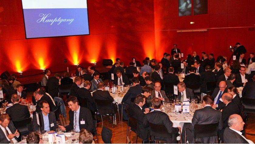 Natürlich kommt das Feiern bei Best in Cloud nicht zu kurz: Bei der abendlichen Gala werden die Preise vergeben.