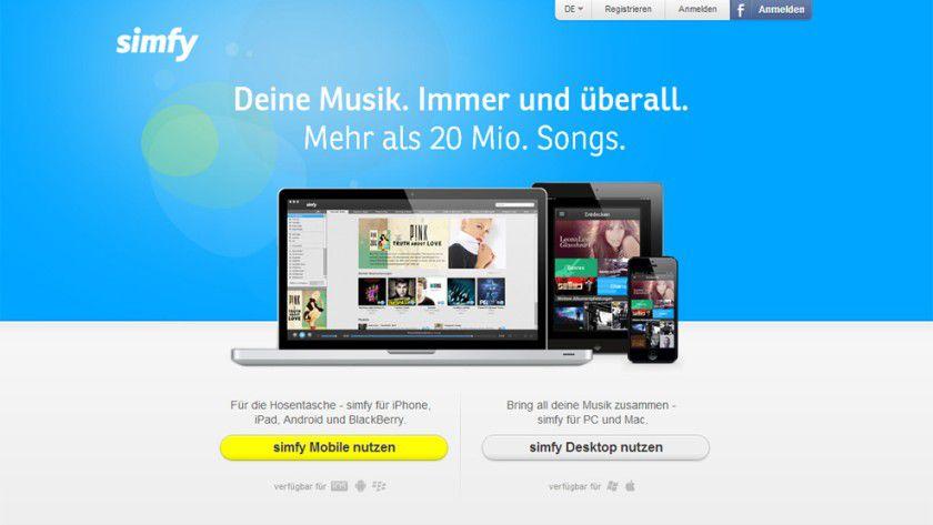 Simfy macht dem Platzhirsch unter den Musik-Streaming-Diensten, Spotify, in Deutschland Konkurrenz.