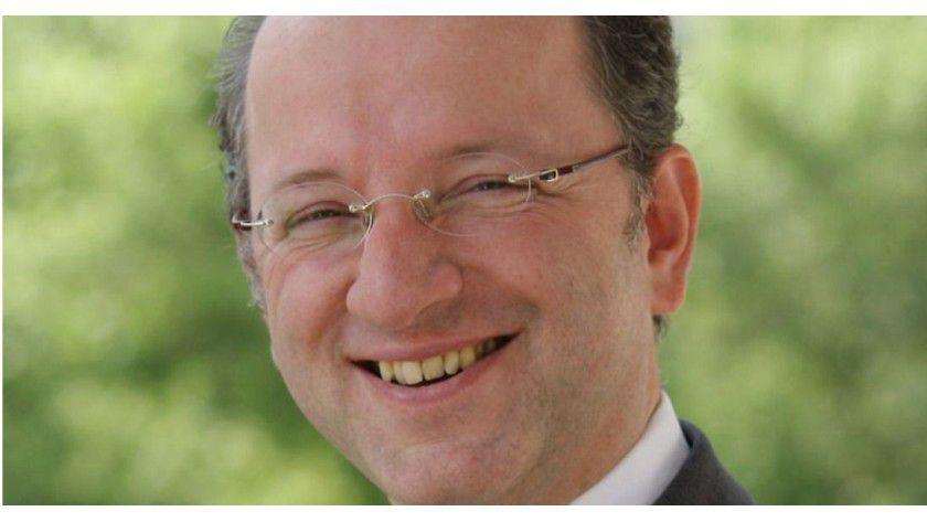 """Christoph Böhm, Vodafone, ist einer der Gewinner des """"Operational Excellence Award 2013""""."""