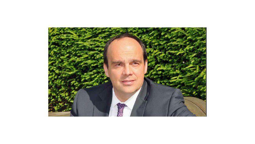 """Hagen Rickmann, Geschäftsführer T-Systems: """"Von der Sicherheit der Daten und ihrem Schutz gegen Manipulationen kann das Überleben eines Unternehmens abhängen."""""""