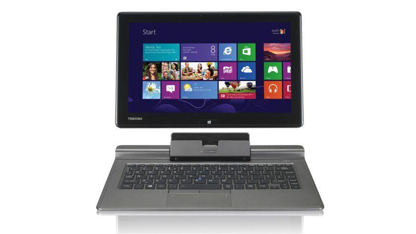Eingeschnappt: Das Toshiba Portégé Z10t ist ein Detachable-Ultrabook mit abnehmbarem, entspiegeltem 11,6 Zoll-Full-HD-Display, das zudem über viel Leistung, ein SSD-Laufwerk sowie LTE verfügt.
