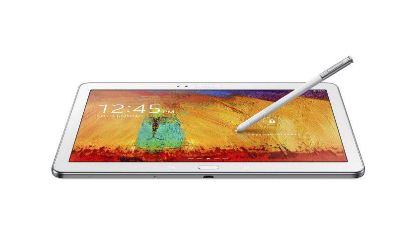 Flach: Das Samsung Galaxy Note 10.1 ist ein sehr schlanker und dennoch leistungsfähiger Slate-PC.