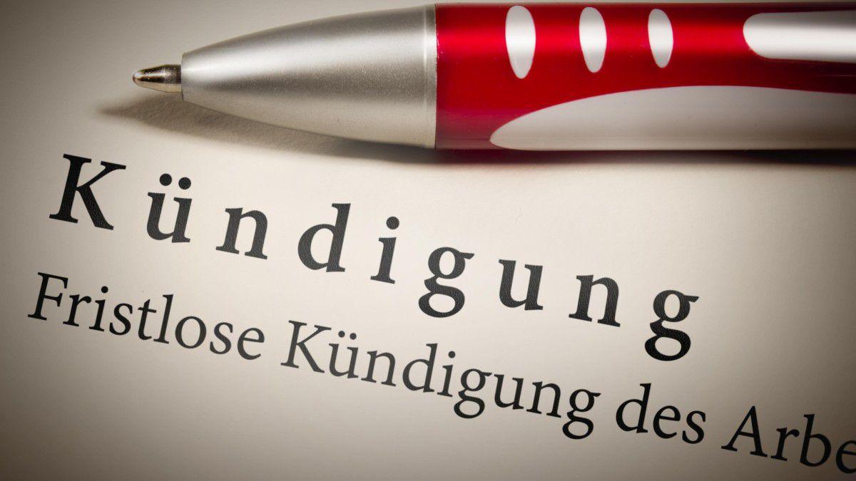 Arbeitsrecht Formfehler Bei Der Kündigung Sind Riskant Tecchannel