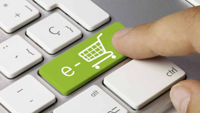 Vom vollen Warenkorb bis zum endgültigen Kauf muss der Kunde noch durch einige Stufen geleitet werden.