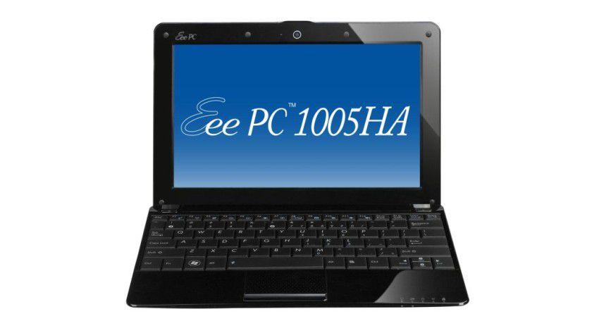 Einsteiger-Netbook mit Windows 7 Starter: Asus Eee PC 1005HA. (Quelle: Asus)