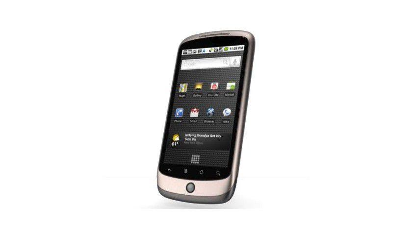 Dualismus: Neben der Bedienung per Touchscreen verfügt das Nexus One zusätzlich über einen Trackball.