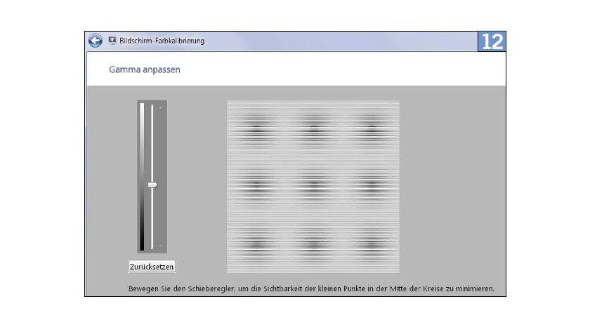 Das Windows-Tool DCCW hilft beim Verbessern der Farbanzeige