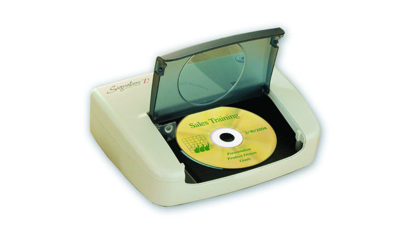 Signature Z1: Der kompakte Drucker beschriftet entsprechend taugliche Medien per Thermotransferdruck. (Quelle: Blu Innovation)