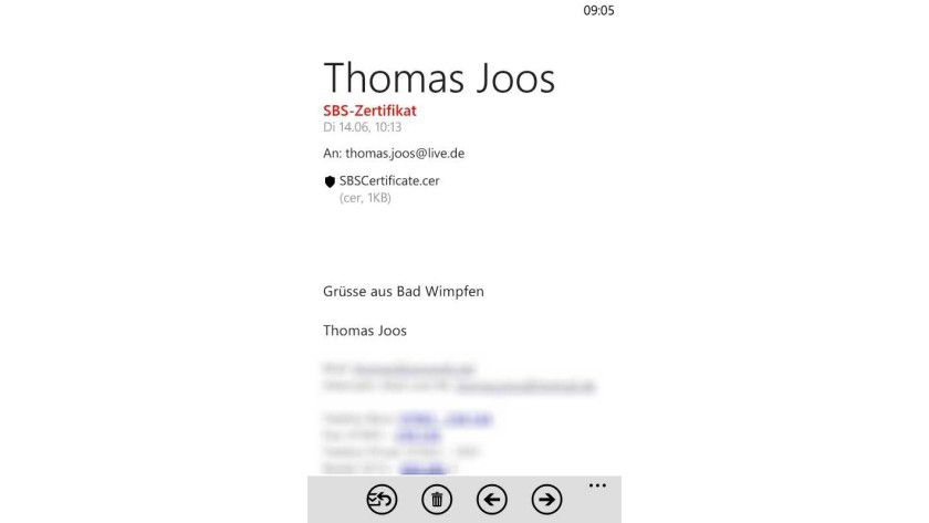 Zertifikate auf dem Smartphone installieren - Exchange, SharePoint ...