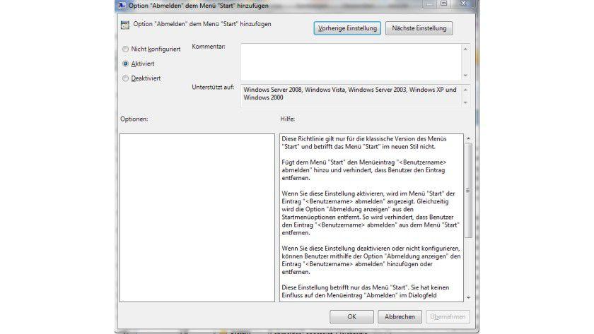 Tipp für Windows 7: Herunterfahren-Schaltfläche ändern - TecChannel ...
