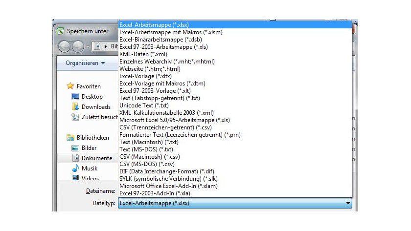 Tipp für Excel: Excel-Dateien ohne Makros speichern - TecChannel ...