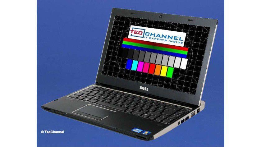 Dell Vostro V131: Das matt ausgeführte 13-Zoll-Display arbeitet mit 1366 x 768 Bildpunkten.