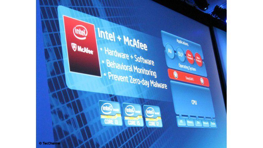 DeepSAFE: Die neue von Intel und McAfee entwickelte Sicherheitslösung ist unterhalb des Betriebssystems aktiv und nutzt die Sicherheitsfeatures aktueller Core-Prozessoren.