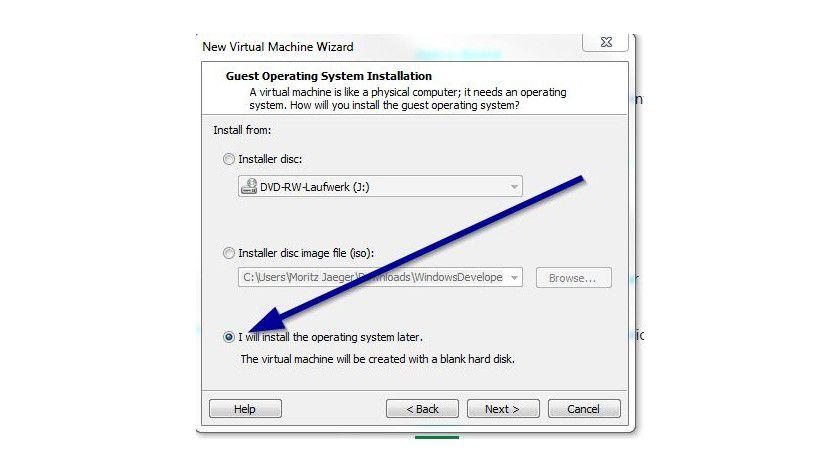 Easy Install abschalten: Mit dieser Option erstellt Workstation 8 keine Unattended-Datei mehr.