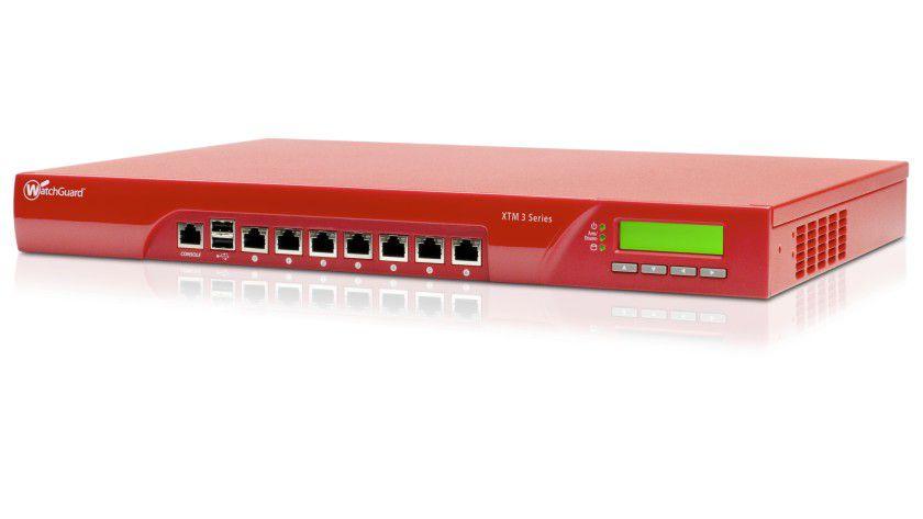 Watchguard XTM 330: Die Security Appliance bietet Next-Generation-Firewall und weitere Services für bis zu 50 Anwender.