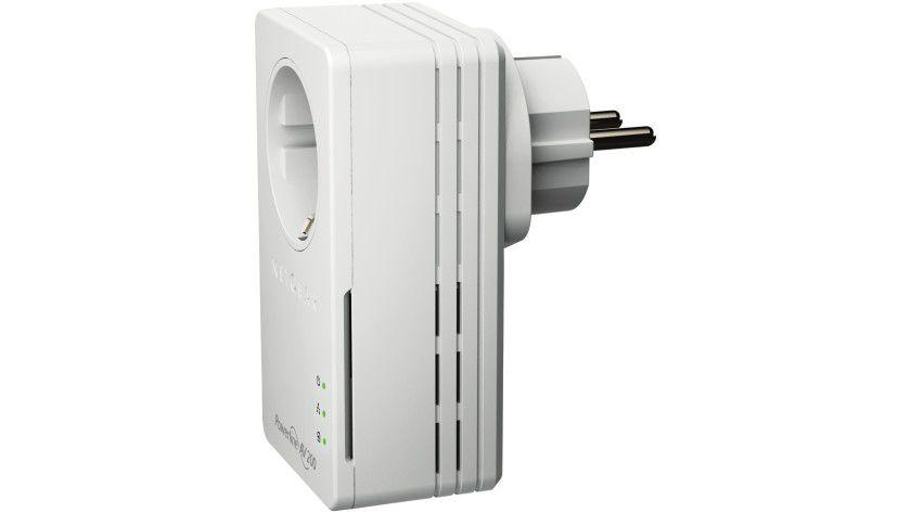 Nanoset XAV1601B: Der Powerline-Adapter von Netgear erreicht einen Datendurchsatz von bis zu 200 Mbit/s