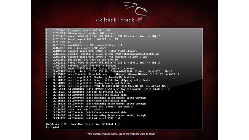 Backtrack Linux 5 R1 Im Test Backtrack Linux Fur Sicherheitsspezialisten Tecchannel Workshop