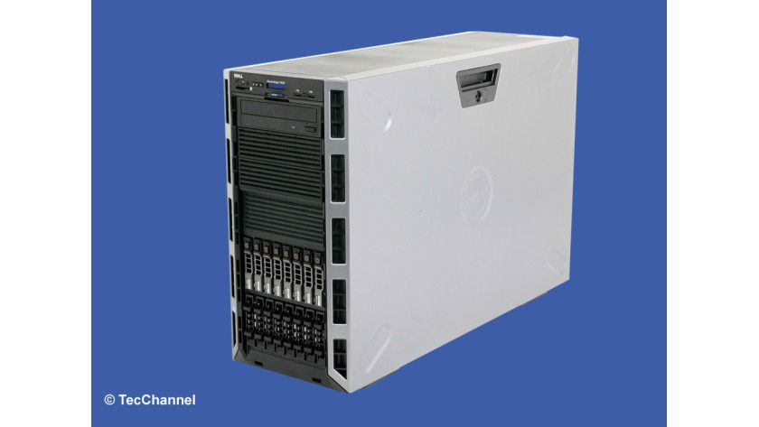 Tower-Power: Das System PowerEdge T620 ist mit aktueller Server-Technologie ausgestattet.