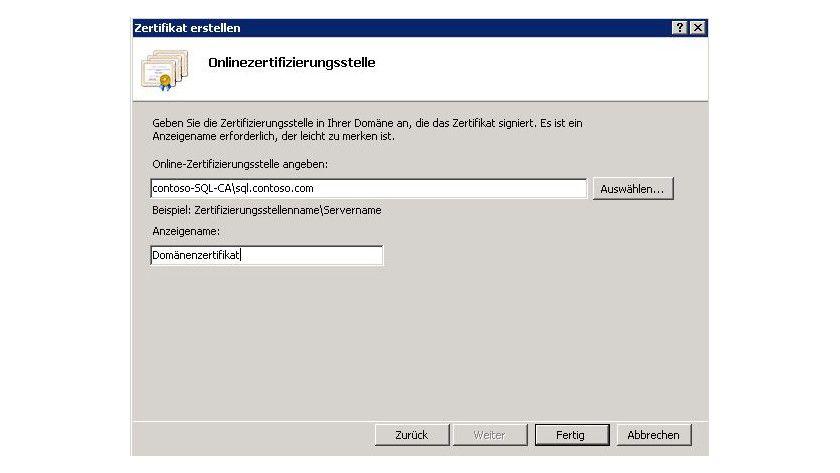 Zertifikate über Iis Manager Installieren Sharepoint Server Und Co