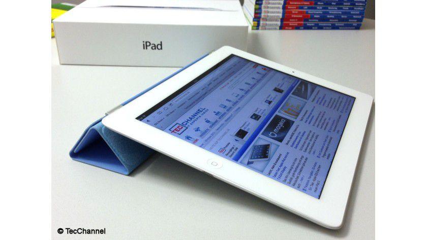 Mobiles Büro: Tablets wie das iPad lassen sich auch für Online-Banking-Geschäfte gut nutzen, da mittlerweile viele Banken entsprechende Apps zur Verfügung stellen.