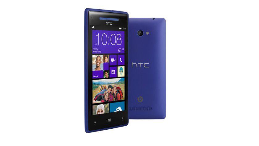 Bunte Smartphones: Das HTC Windows Phone 8X ist in verschiedenen Farben erhältlich.