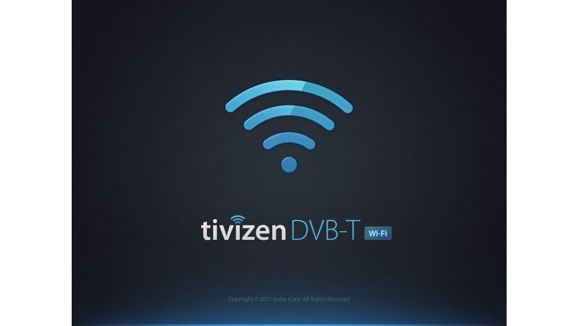 Vorarbeiten: Für den WLAN-Empfang von DVB-T über Tivizen iPlug muss auf dem Empfangsgerät die entsprechende App beziehungsweise Software installiert werden.