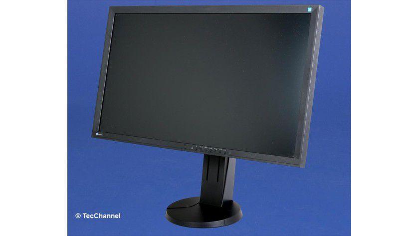 Eizo EV2736W: Das LED-beleuchtete 27-Zoll-IPS-Panel arbeitet mit einer nativen Auflösung von 2560 x 1440 Bildpunkten.