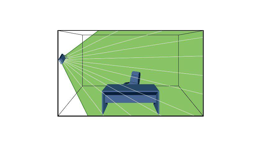 Wand-Montage: Manche WLAN-APs für die Anbringung an der Wand haben integrierte Direktionalantennen, die auch darüber- und darunterliegende Stockwerke bestrahlen. Dieser Effekt kann erwünscht sein, je nach Planungs- und Versorgungsabsicht.