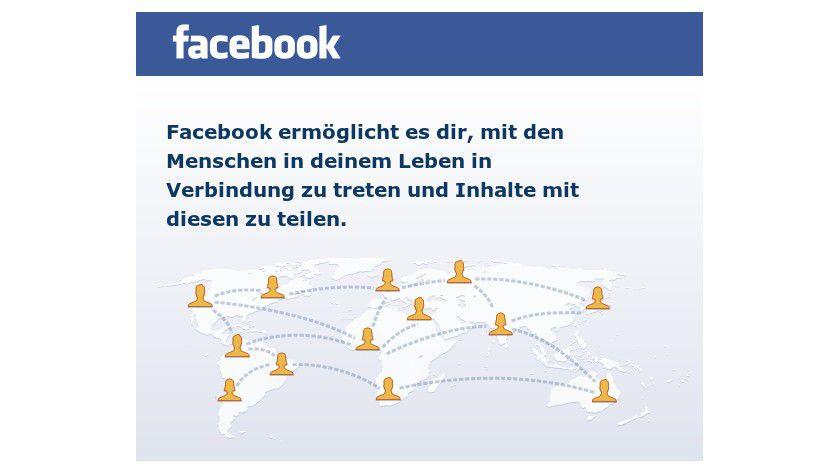 Facebook bietet viel Fehler-Potential