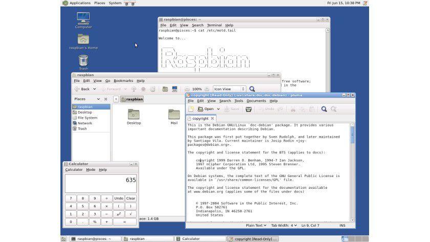 Raspbian bringt ein vollwertiges Linux auf den Raspberry Pi