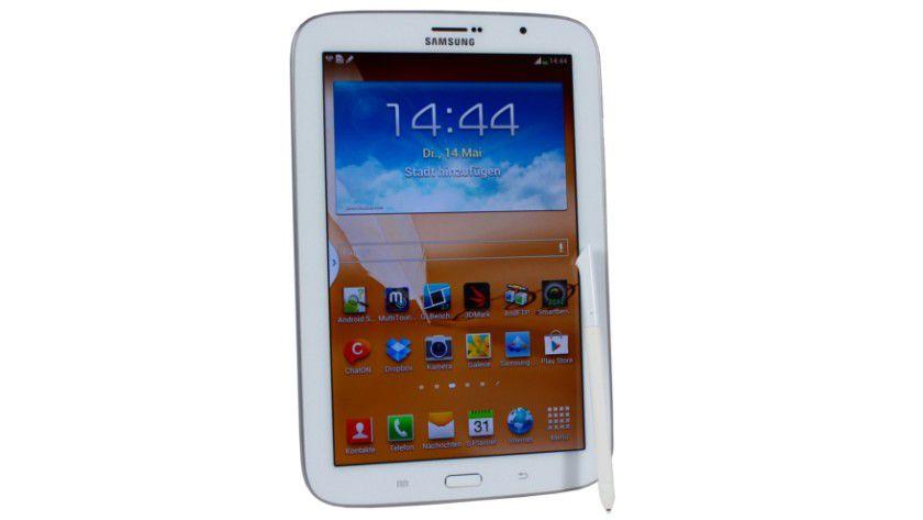 Mit Stifeingabe und Telefonfunktion sehr flexibel: Das Samsung Galaxy Tab 8.0