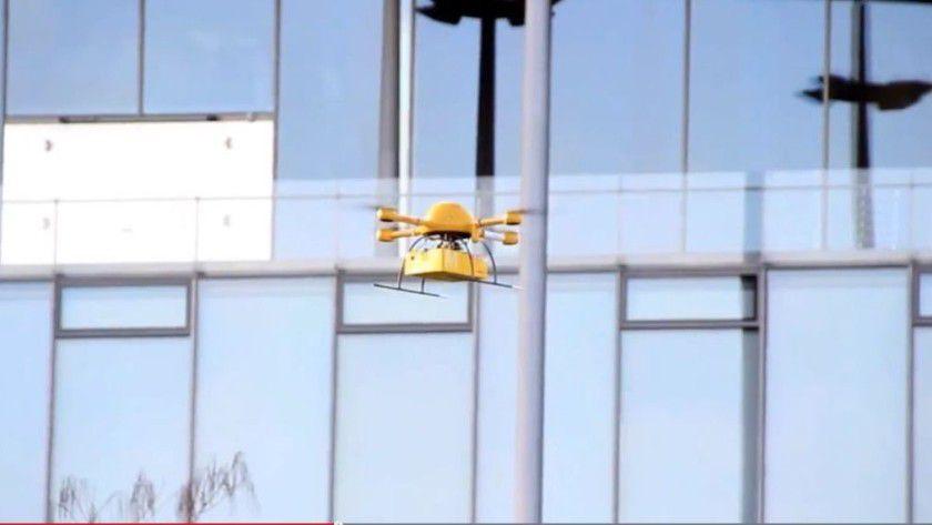 Logistikdienstleister wie DHL testen derzeit Drohnen in der Sendungszustellung aus.