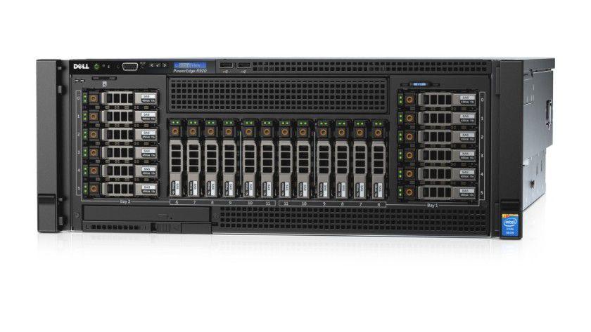 Dell Power Edge R920: Hersteller betont Benchmark-Tests und Ausstattungsmerkmale.