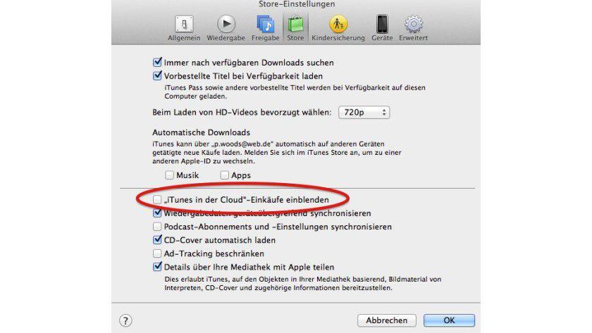 In iTunes muss die neue Ansicht eventuell noch eingeschaltet werden.