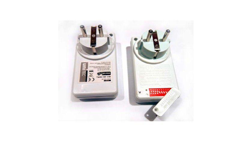 Dankbares Einstiegsmodell: Die verbreitete Funksteckdosen-Variante mit zehn Dipschaltern ist das am einfachsten anzusteuernde und empfehlenswerte Modell zur Hausautomatisierung.