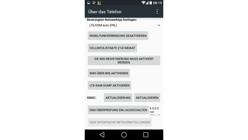 Android-Telefon umfassend testen - Zeichencodes, Tests und