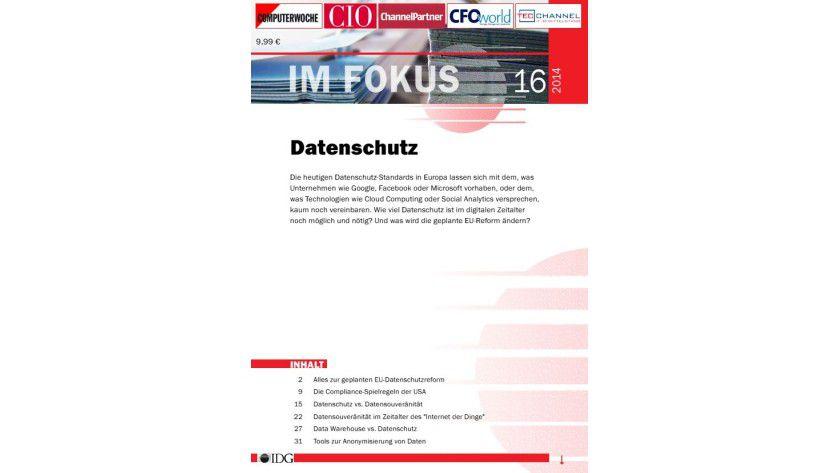 IM FOKUS: Datenschutz