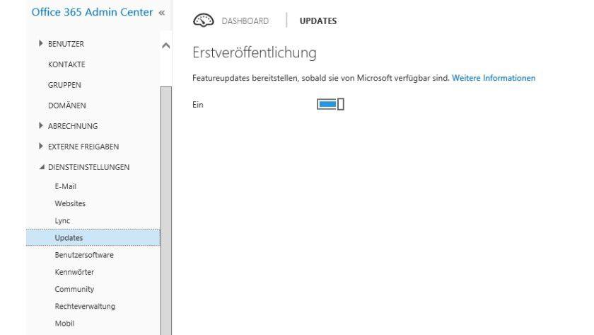 Über Office-365-Updates kommen Sie an die Testumgebung von Delve und weiteren neuen Funktionen.