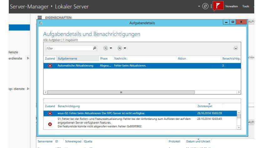 Fehler überprüfen - Windows Server 2012 R2: 10 Dinge, die Sie nach ...