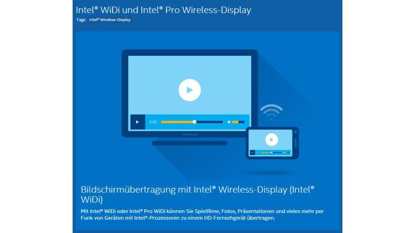 Wireless Display von Intel und AMD - Wireless-Display