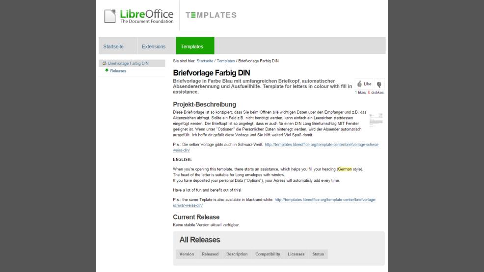 Tipp Für Die Office Suite Der Document Foundation Libreoffice