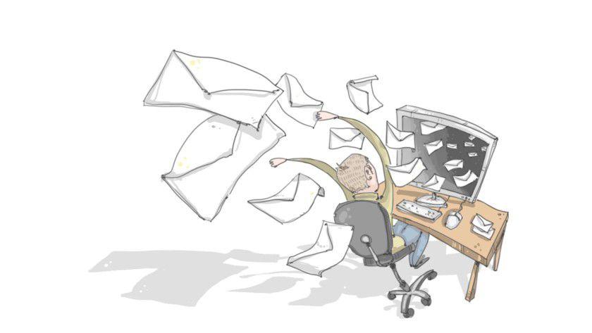 """Mailscout dient dazu, E-Mail-Richtlinien in Unternehmen konstruktiv und """"spielerisch"""" umzusetzen und so die Qualität der elektronischen Kommunikation zu verbessern."""