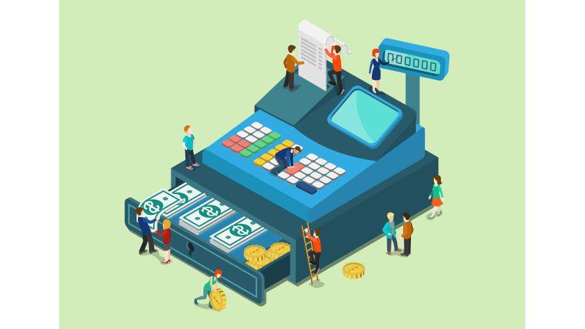 Rechnungen online zu senden und zu empfangen spart Zeit und Geld.