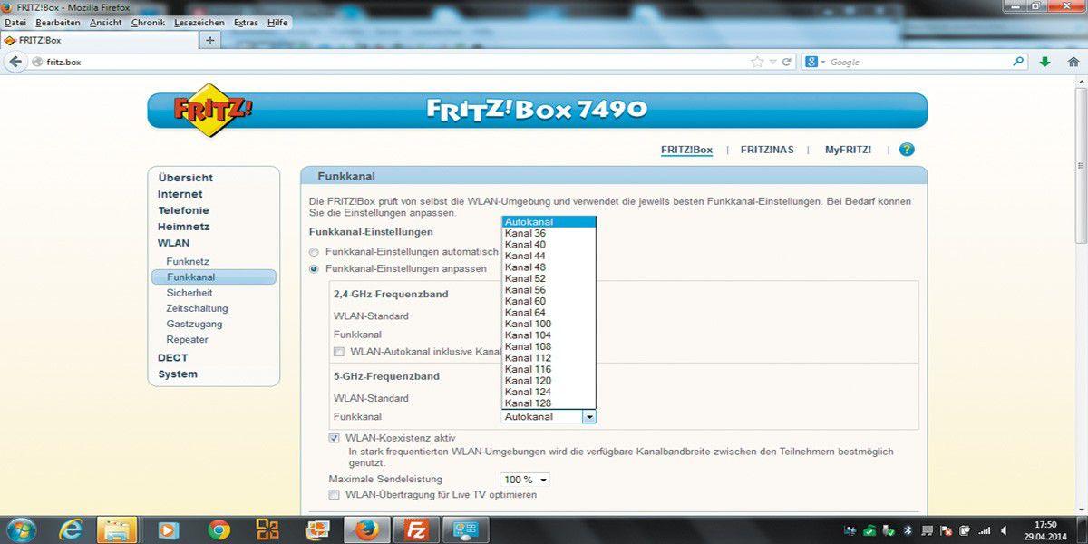 Troubleshooting Fritzbox Verbindungsproblem Mit 5 Ghz Wlan Losen