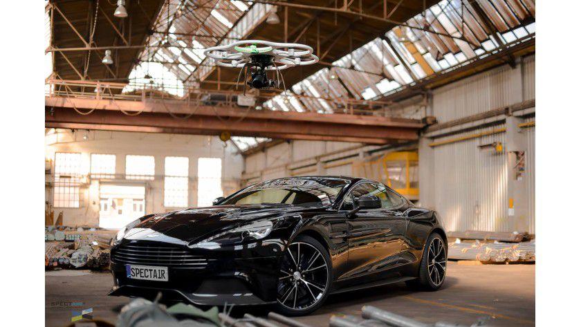 Drohnen kommen gerne für professionelle Werbeaufnahmen und Videos zum Einsatz.