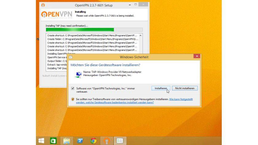 Die freie Software OpenVPN arbeitet via SSL, installiert aber dennoch eine neue Schnittstelle samt virtueller Netzwerkkarte auf dem Client-System.